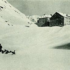 Klášter sv. Bernarda v roce 1920