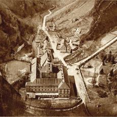 Svatý Jan pod Skalou v roce 1930