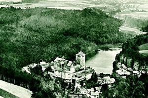 Hrad Kost v roce 1927