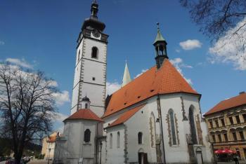 Písecký kostel Narození Panny Marie je krásnou ukázkou práce písecko-zvíkovské huti