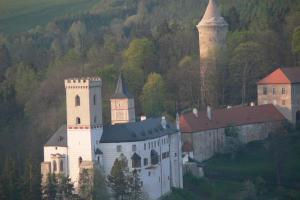 Hrad Rožmberk je kolébka mocného rodu Rožmberků