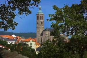 Vysoká věž kostela sv.Jakuba je jednou z dominant Kutné Hory