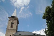 Kostel Panny Marie Na Náměti je místem posledního odpočinku Petra Brandla