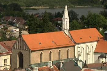 V kostele sv. Jana Křtitele v Jindřichově Hradci najdete pozoruhodnou výzdobu