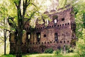 Hrad Dalečín byl sídlem lapků
