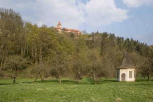 Zahájení kácení na hradě Pernštejně