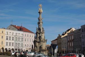 Jindřichohradecký sloup je největším svého druhu v jižních Čechách