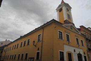 Budova radnice v Broumově je dokladem stavebního vývoje města