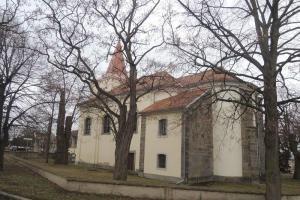 Kostel Nanebevzetí Panny Marie v Chotěšově byl vybudován doksanskými premonstrátkami