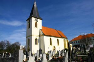 Kostel sv.Matěje v Horšicích je hodnotná gotická architektura