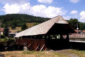 Nejstarší moravský krytý dřevěný most je v Černvíru