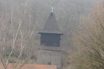 Zvonice v Krupce plnila i fortifikační funkci