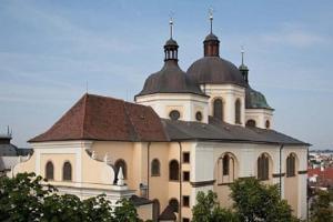 Kostel sv.Michala je první kopulovitá stavba severoitalského typu na Moravě