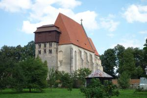 Kostel sv.Jiljí v Milevsku skrývá unikátní klenbu presbytáře