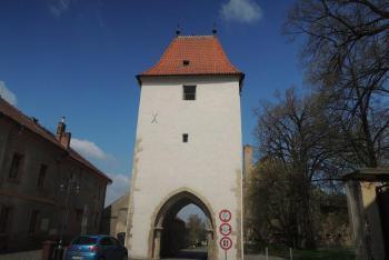 V Kouřimi se dochovala jen Pražská brána