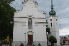 Kostel sv. Víta nejstarším pelhřimovským kostelem