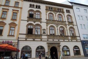 Edelmannův palác v Olomouci byl sídlem maršála Radeckého