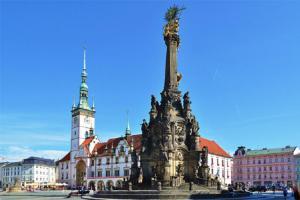 Sloup Nejsvětější Trojice v Olomouci patří mezi světové dědictví UNESCO