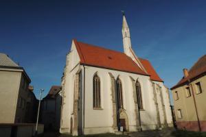 Špitální kostel sv.Víta v Soběslavi nechal postavit Oldřich z Rožmberka