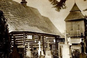 Dřevěný kostel sv. Jana Křtitele ve Slavoňově
