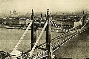 Most královny Alžběty v Budapešti