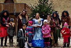 Čerti a čertice a Vánoce na hradě