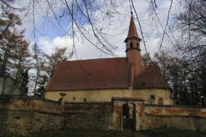 Kostel sv. Kateřiny v Polné skrývá fresky z 15.století