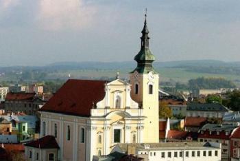 Kostel Nanebevzetí Panny Marie v Kroměříži  založil biskup Bruno ze Schaumburku