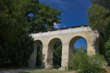 Lednicko-valtický areál skrývá napodobeninu akvaduktu