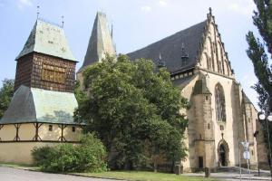 Děkanský chrám sv. Bartoloměje v Rakovníku je příkladem vladislavské gotiky
