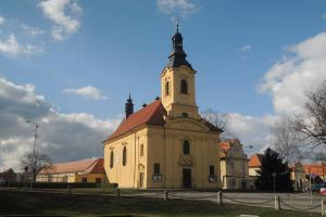 Na místě loretánské kaple stojí barokní kostel