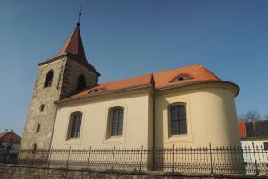 Kostel svatého Martina byl založen za vlády Karla IV.