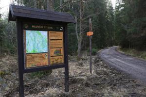 Uzavření Medvědí cesty a části Schwarzenberského kanálu u Nové Pece