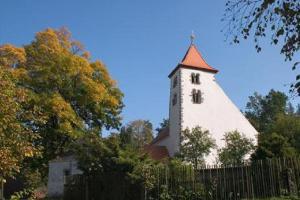 Románský kostel sv.Voršily v Újezdci patří k nejstarším v České republice
