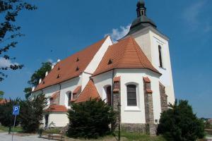 Kostel sv.Jiljí ve Vlašimi byl původně zasvěcen Panně Marii Vítězné