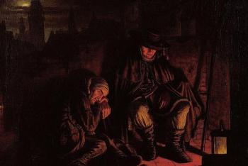 Výstava Světlo, šero a temnoty, umění českého 19. století v Západočeské galerii