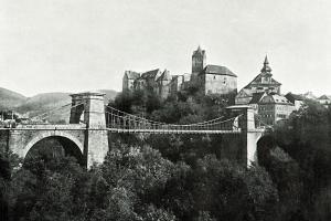 Řetězový most v Lokti