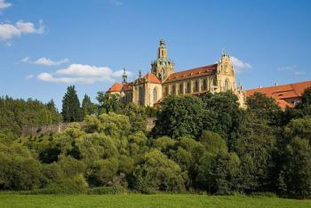Klášter v Kladrubech je místem posledního odpočinku knížete Vladislava I.