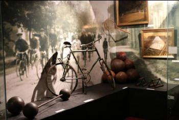 Výstavu Sport za Velké války můžete navštívit v Národním památníku na Vítkově