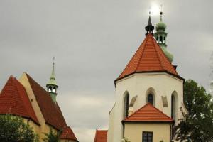 Kostel sv. Petra a Pavla v Kaplici sloužil německým obyvatelům