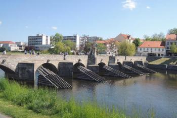 Kamenný most v Písku je nejstarším mostem v Čechách
