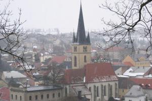 Kostel sv. Petra a Pavla má klenbu, která je evropskou raritou