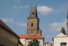 Vysoká brána v Rakovníku patří k nejmonumentálnějším stavbám doby pozdního středověku v Čechách