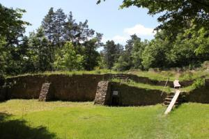 Hrad Sion byl místem posledního boje husitského hejtmana Jana Roháče z Dubé