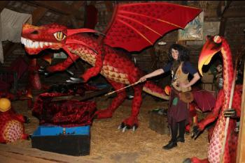 Podzimní prázdniny s draky - pojďte do pohádky
