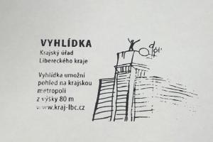 Nová turistická razítka lze získat v sídle Krajského úřadu Libereckého kraje