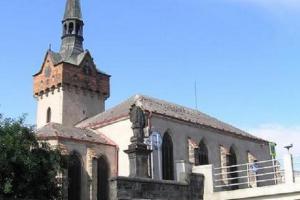 Kostel sv.Kateřiny v Chrudimi byl součástí starého špitálu