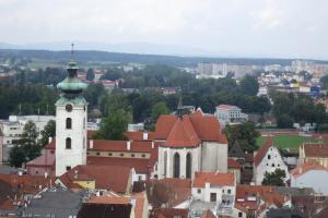 Dominikánský klášter je nejstarší gotickou stavbou v Českých Budějovicích