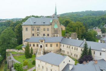 Hrad Šternberk na Moravě má výzdobu od gotiky až po secesi