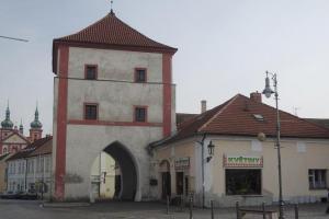 Severovýchodní bránu ve Staré Boleslavi nechal vybudovat Karel IV.